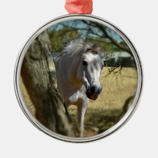 Snow White The Horse, Christmas Ornament