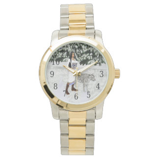 Snow White Tiger Watch