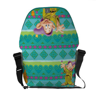 Snow White's Dopey Messenger Bags
