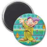 Snow White's Dopey Refrigerator Magnets
