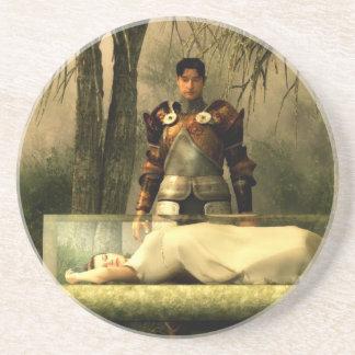 Snow White's Glass Coffin Coaster