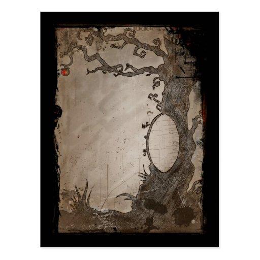 Snow White's Magic Mirror Tree Postcards