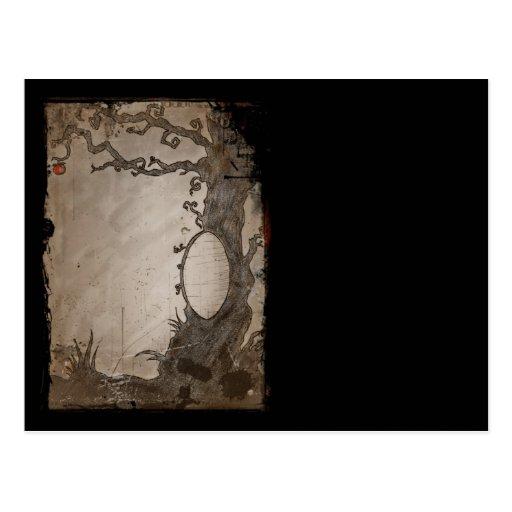 Snow White's Magic Mirror Tree Post Cards