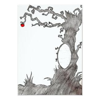 Snow White's Magic Tree 13 Cm X 18 Cm Invitation Card