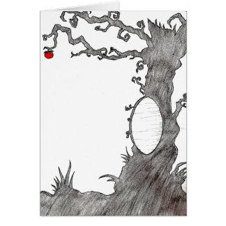 Snow White's Magic Tree Card