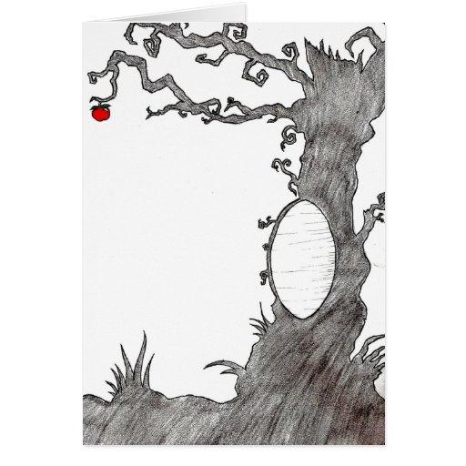 Snow White's Magic Tree Cards
