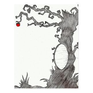 Snow White's Magic Tree Post Cards