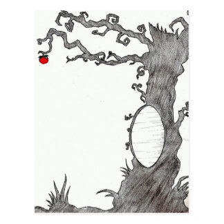 Snow White's Magic Tree Postcard