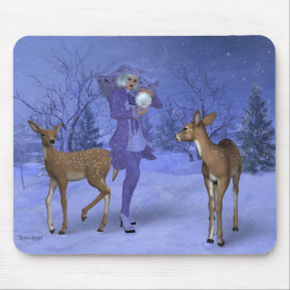 Snow Witch Mouse Mat