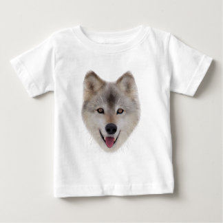 Snow Wolf Sketch Baby T-Shirt