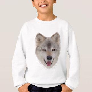 Snow Wolf Sketch Sweatshirt