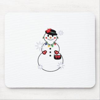 Snow Woman Mousepads