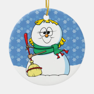 Snow Woman Ornament