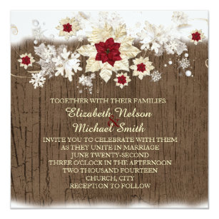 holiday wedding invitations zazzle co uk