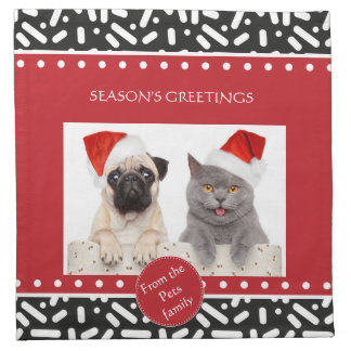 Snow Xmas Stationary and Gifts Napkins