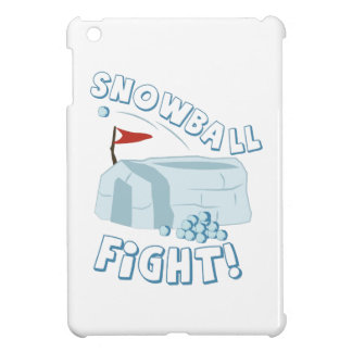 Snowball Fight Fort Cover For The iPad Mini