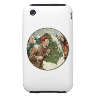 Snowball Fight iPhone 3 Tough Cover