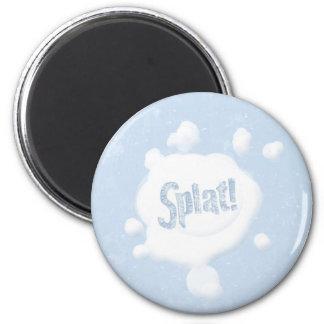Snowball Splat! Magnet