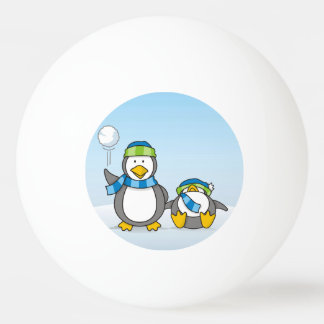 Snowballing penguins