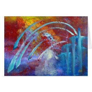 """Snowbirds"" Art Card"
