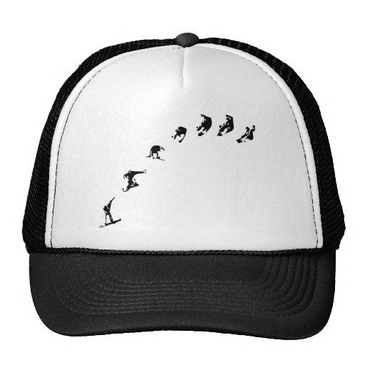 Snowboard 360 hat