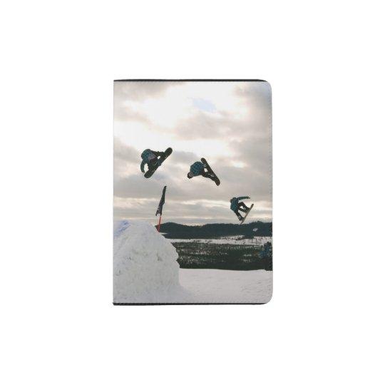 snowboard-6 passport holder
