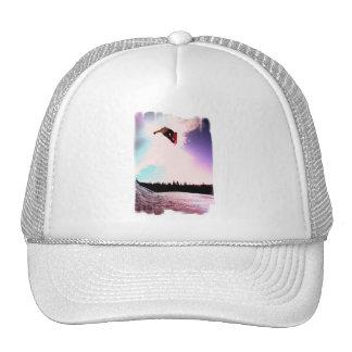 Snowboard Air Baseball Hat