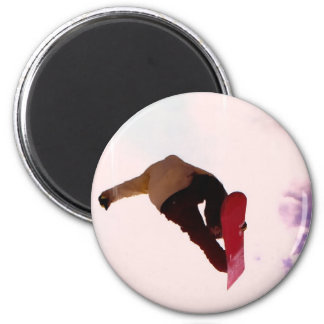 Snowboard Air Magnet Refrigerator Magnets