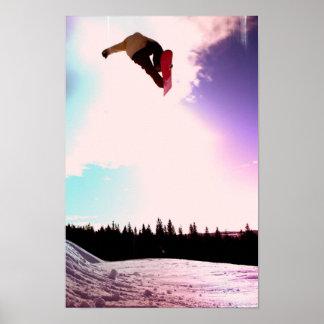 Snowboard Air Poster