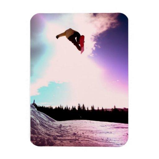 Snowboard Air Premium Magnet Vinyl Magnets