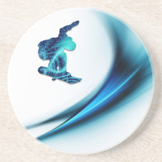 Snowboard Design Coaster