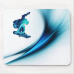 Snowboard Design Mouse Pad