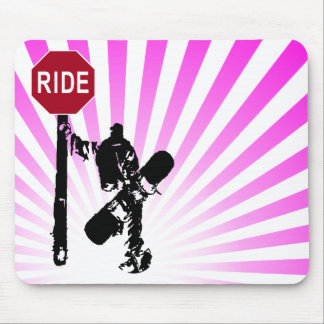 snowboard... directions? mouse pads