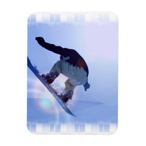 Snowboard Flexible Magnet Flexible Magnet