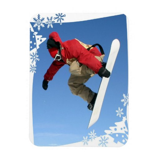 Snowboard Grab  Magnet Flexible Magnets