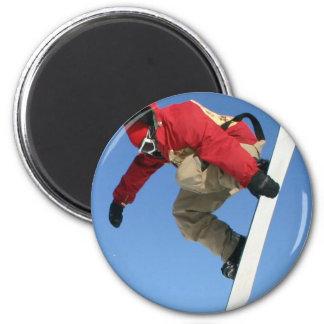 Snowboard Grab Magnet Refrigerator Magnets