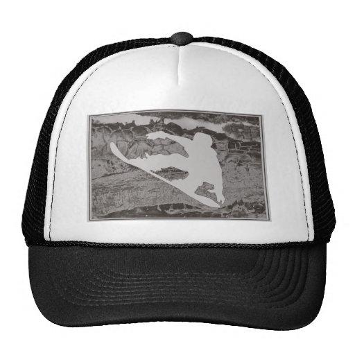 Snowboard Gray Hats