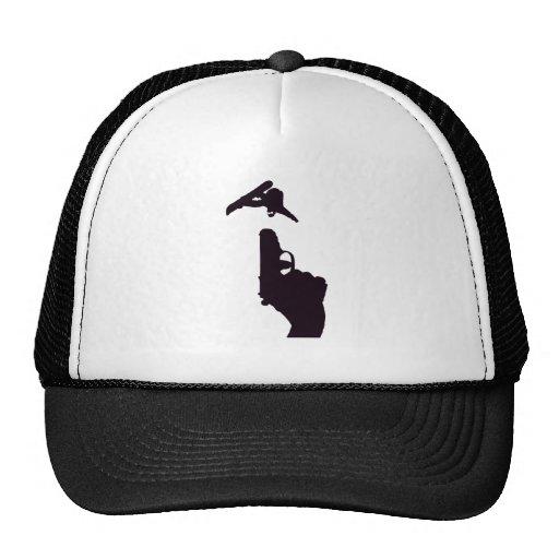snowboard gun mesh hats