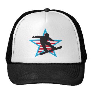 snowboard mesh hat