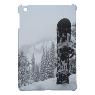 Snowboard In Snow iPad Mini Cover
