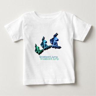 Snowboard Jumps Baby T-Shirt