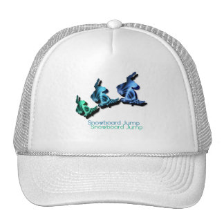 Snowboard Jumps Baseball Hat