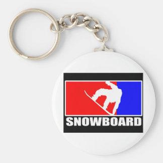 snowboard key chain