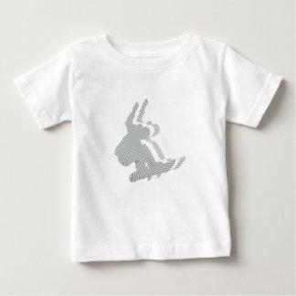 Snowboard Logo Design Baby T-Shirt