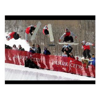 Snowboard Postcard