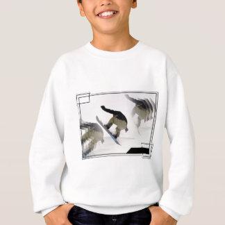 Snowboard Rails Children's Sweatshirt