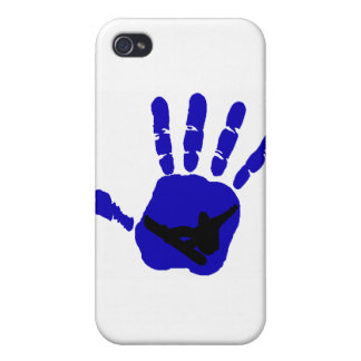 Snowboard Riot Blues Covers For iPhone 4
