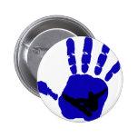 Snowboard Riot Blues Pinback Buttons
