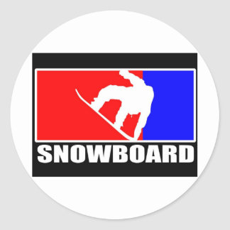 Snowboard marken sticker