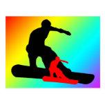 snowboard : shadowstance post card